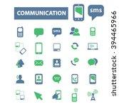 communication icons  | Shutterstock .eps vector #394465966