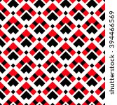 geometric white red black... | Shutterstock .eps vector #394466569