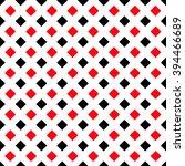 geometric white black red... | Shutterstock .eps vector #394466689