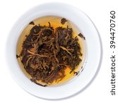 tea black dragon pearl tea... | Shutterstock . vector #394470760