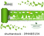 ecology connection  concept... | Shutterstock .eps vector #394485154