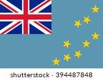 tuvalu flag | Shutterstock .eps vector #394487848