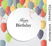 vector illustration of a happy... | Shutterstock .eps vector #394494526