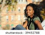 beautiful african american | Shutterstock . vector #39452788