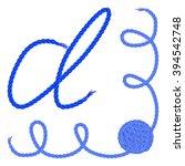 Letter D   Alphabet  Font...