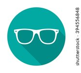 sunglasses icon with long... | Shutterstock .eps vector #394556848