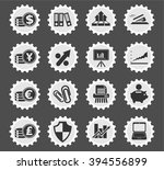 business and finance web icons... | Shutterstock .eps vector #394556899