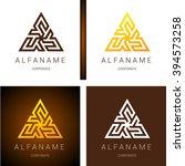 ethno logo pattern. ethnic...   Shutterstock .eps vector #394573258