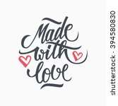 Made With Love Handwritten...