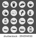 car wash  simply symbols for... | Shutterstock .eps vector #394594930