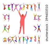 win win bright idea  | Shutterstock .eps vector #394603510