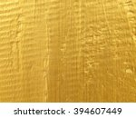 Gold Paint On Texture Wood