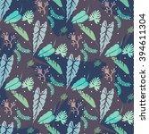 contemporary geometric fashion... | Shutterstock .eps vector #394611304