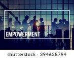 empowerment empower enable... | Shutterstock . vector #394628794