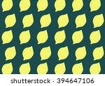 isolated cartoon vector lemons...   Shutterstock .eps vector #394647106