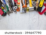 old tools on a wooden table | Shutterstock . vector #394647790