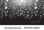 shining background for jewelry... | Shutterstock .eps vector #394651084