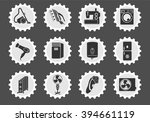 home appliances  simply symbols ... | Shutterstock .eps vector #394661119