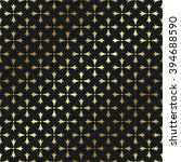 seamless gold pattern. vector... | Shutterstock .eps vector #394688590