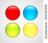 web buttons set | Shutterstock .eps vector #394700350