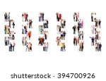 team over white office culture  | Shutterstock . vector #394700926