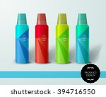 mockup template for branding... | Shutterstock .eps vector #394716550