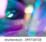 iridescent holographic rainbow... | Shutterstock . vector #394718728