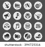 music web icons for user... | Shutterstock .eps vector #394725316