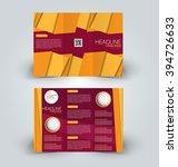 brochure mock up design... | Shutterstock .eps vector #394726633