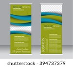roll up banner stand template.... | Shutterstock .eps vector #394737379