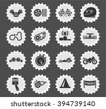 racing  simply symbols for web... | Shutterstock .eps vector #394739140