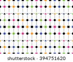 abstract seamless pattern of... | Shutterstock .eps vector #394751620