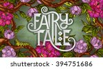 Fairy Tale Lettering Decorated...
