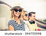 carefree summertime | Shutterstock . vector #394755598