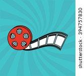 movie entertainment design  | Shutterstock .eps vector #394757830