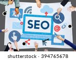 search engine optimization... | Shutterstock . vector #394765678
