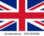 united kingdom vector flag   Shutterstock .eps vector #394769086