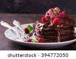 Chocolate Pancake With...