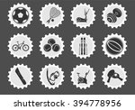 sport equipment  simply symbols ... | Shutterstock .eps vector #394778956