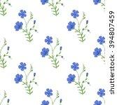 abstract elegant seamless... | Shutterstock .eps vector #394807459