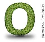 o uppercase alphabet made of...