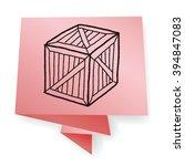 wood box doodle | Shutterstock . vector #394847083