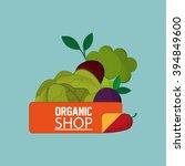 organic shop design   Shutterstock .eps vector #394849600