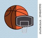basketball icon design | Shutterstock .eps vector #394849990