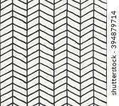 hand drawn herringbone pattern... | Shutterstock .eps vector #394879714