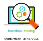 functional testing software... | Shutterstock .eps vector #394879966
