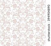 floral pattern. wallpaper... | Shutterstock . vector #394904890