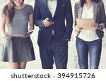 human resources interview... | Shutterstock . vector #394915726