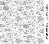 background underwater world....   Shutterstock .eps vector #394916350