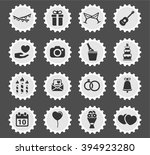 wedding simply icons for web... | Shutterstock .eps vector #394923280